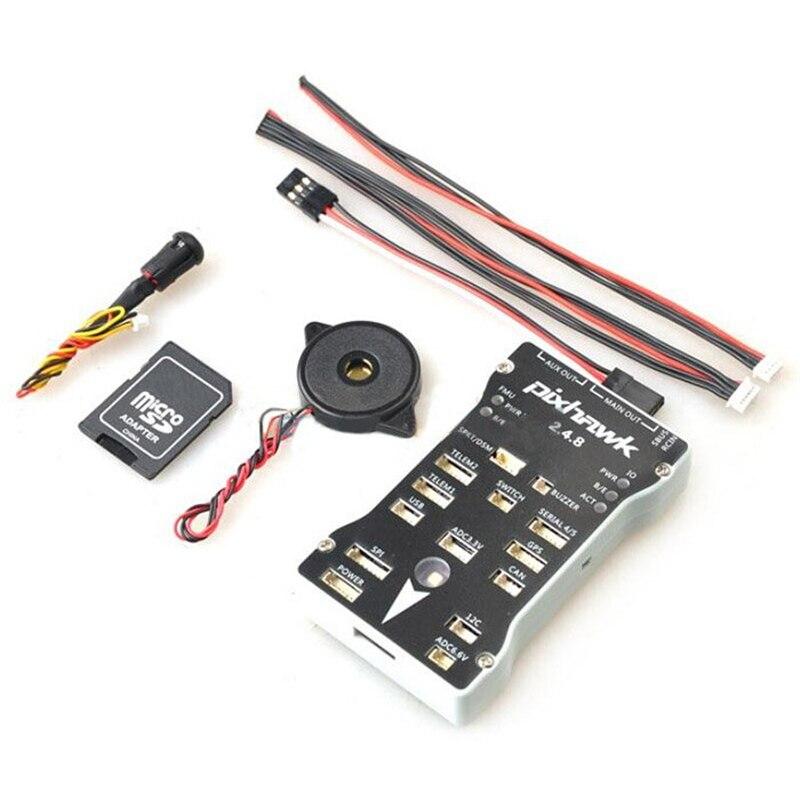 FPV Controlador de Vôo Pixhawk PX4 Autopilot PIX 2.4.8 32 Bit o I2C Expandir Módulo Splitter e com Interruptor de Segurança e Buzzer