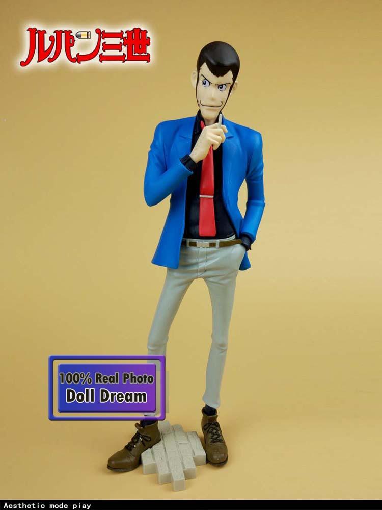 25cm pvc original japonés anime Lupin III figura de acción juguetes para niños colección de juguetes modelo