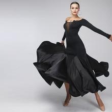 Черное сексуальное бальное платье, стандартные Бальные платья для конкурса бальных танцев, бальные платья, платья для фламенко, танго