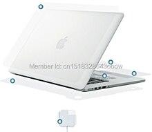 6 en 1 protecteur de couverture autocollant de peau Invisible pour Macbook Air Pro 17