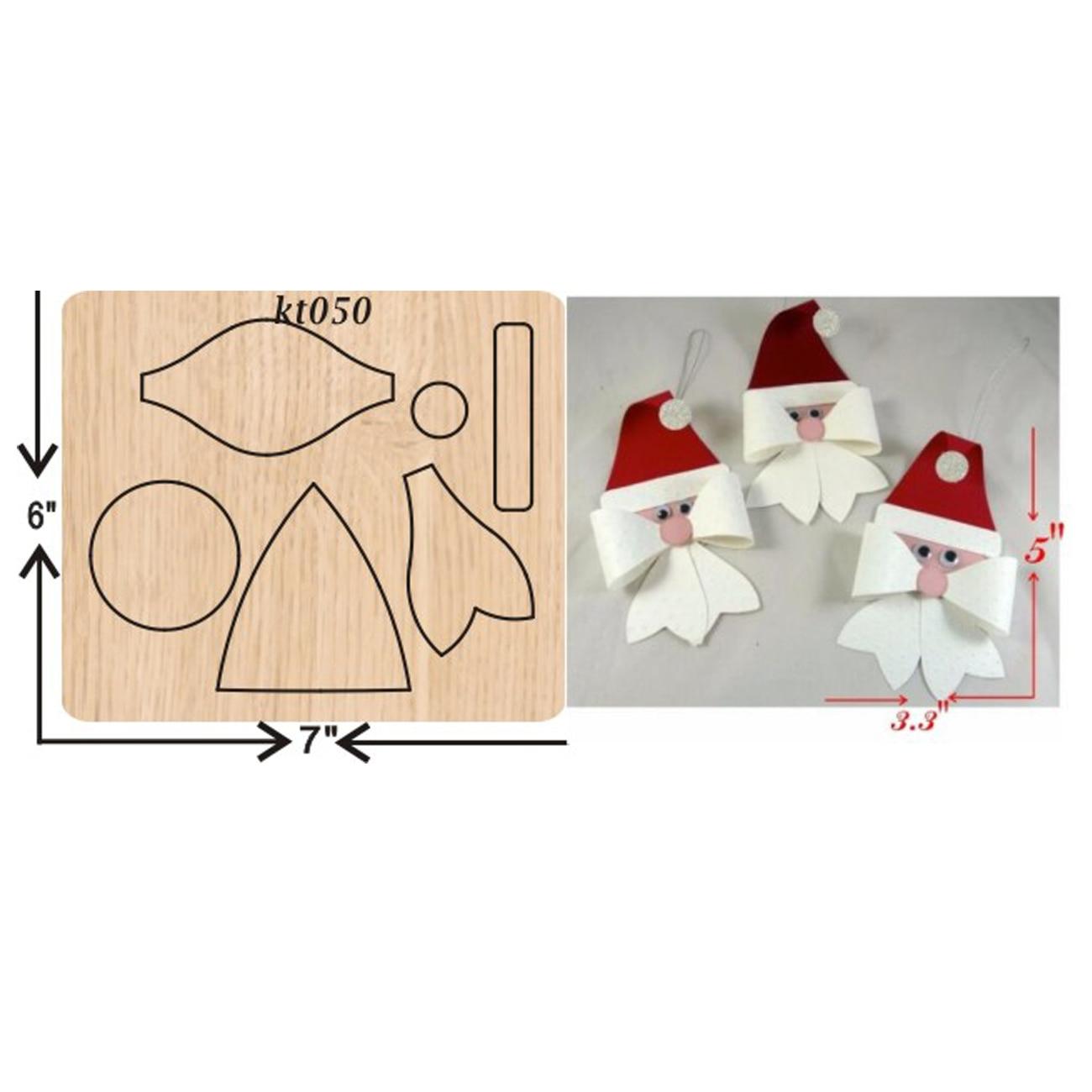 Santa Claus troqueles de corte 2019 nuevos troquelados y troqueles de madera adecuados para máquinas de troquelado comunes en el mercado