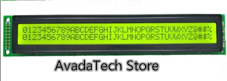 SMR4002-A желто-зеленый экран 4002A ЖК-модуль желтый зеленый фон черные слова 3,3 V 5V матричный экран 4002 дисплей 40x2