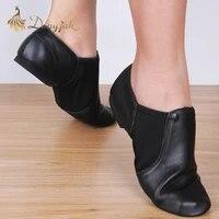dongjak genuine leather stretch jazz latin dance shoes salsa for women jazz ballet shoes teacherss dance sandals excercise shoe