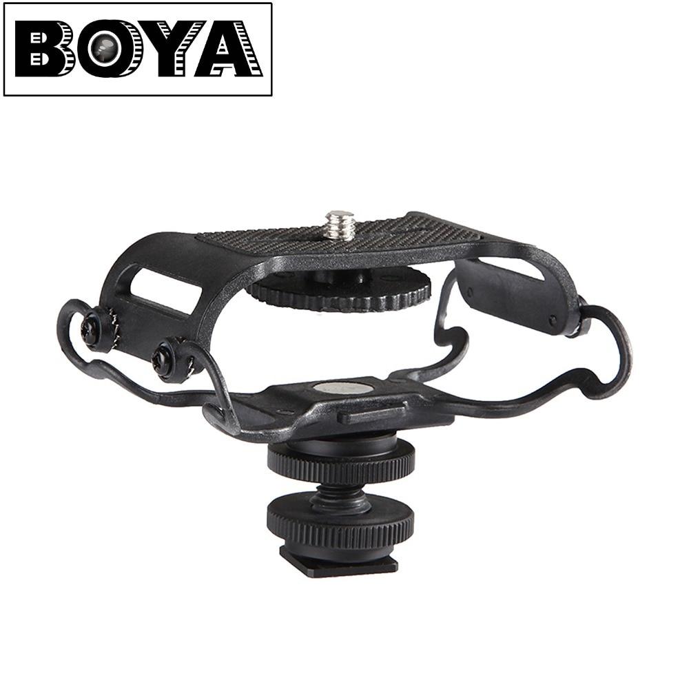 Ударное крепление для микрофона BOYA BY-C10, для Zoom H4n/H5/H6, для Sony Tascam DR-40, DR-05, Recorders, Microfone Shockmount, Olympus, Tascam