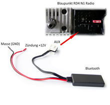 BLUETOOTH adaptador AUX MP3 para Citroen C1 C2 C3 C4 C5 DS3 DS4 Blaupunkt RD4 Radio