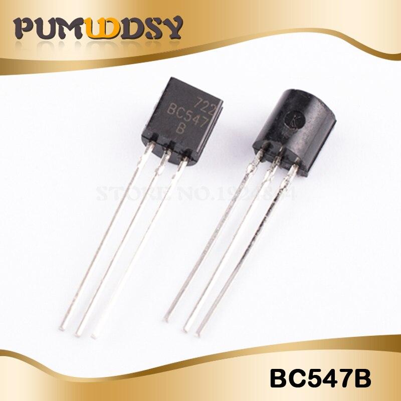 100 paire = 200 pièces BC547 BC557 BC547B BC557B NPN PNP TO-92 IC