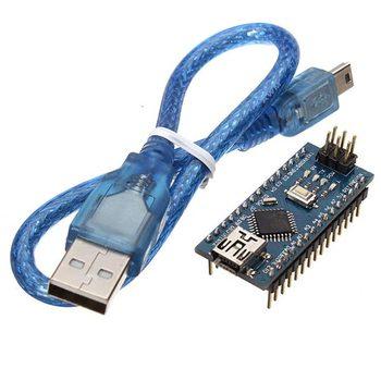 ATmega328P Nano V3 Module Improved Version With USB Cable Development Board For Arduino RC Drone FPV Robot