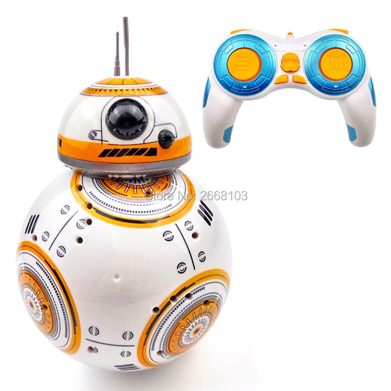 جديد النسخة ترقية نموذج الكرة RC BB-8 الروبوت روبوت BB8 ذكي روبوت 2.4G التحكم عن بعد لعبة لفتاة هدية مع الصوت العمل