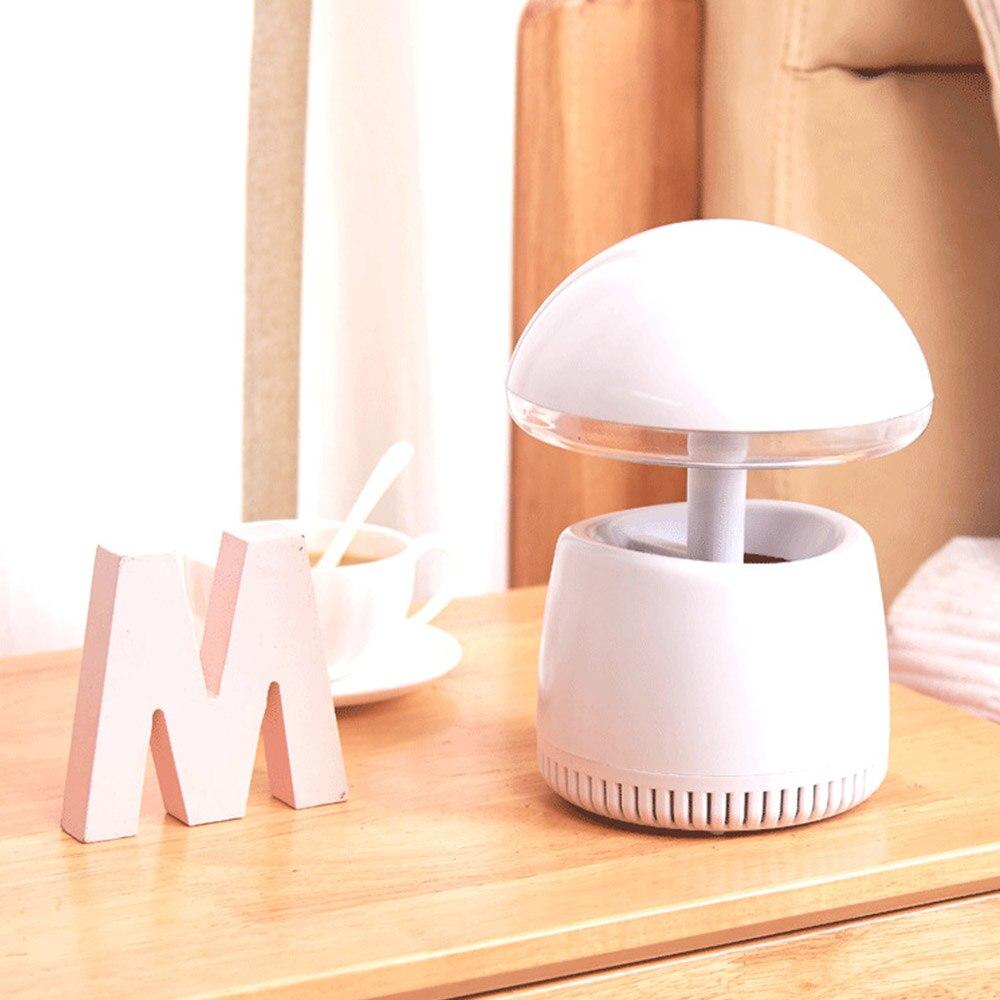 LED de luz de la noche de plagas asesino USB Lámpara electrónica del asesino del Mosquito trampa volar avispa