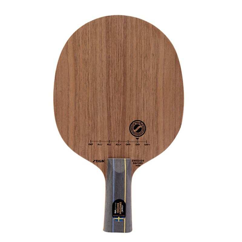 Original Stiga espada sueco corona Wrb raqueta de tenis de mesa palo de Ping Pong clásico
