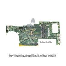 A000298600 pour toshiba satellite radius P55W ordinateur portable carte mère i7-4510U gma hd4400 DDR3L