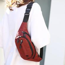 2020 Waist Bag Women Blet Bag Waterproof Purse Murse Back Anti-Theft Zipper Female Banana Waist Bags Fashion Belt Bag Fanny Pack
