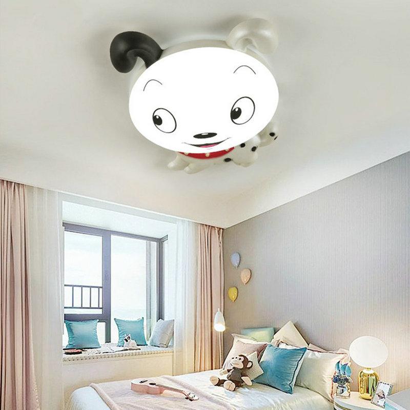 Artpad Cartoon Figures Cute Children Ceiling Lights Acrylic Sconces AC110V-220V Dimmable Girl Boy Baby LED Bedroom Lamp