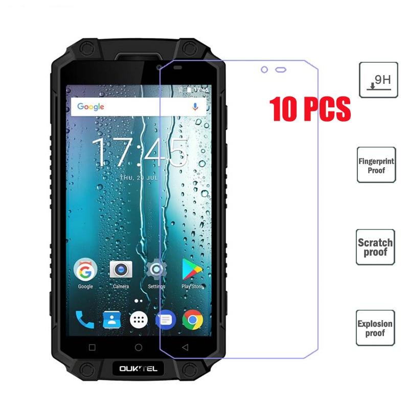 10 Pçs/lote 2.5D 9 H Vidro Temperado Para Oukitel K10000 Max Protetor de Tela Película Protetora Para Oukitel K10000 Max Smartphones IP68
