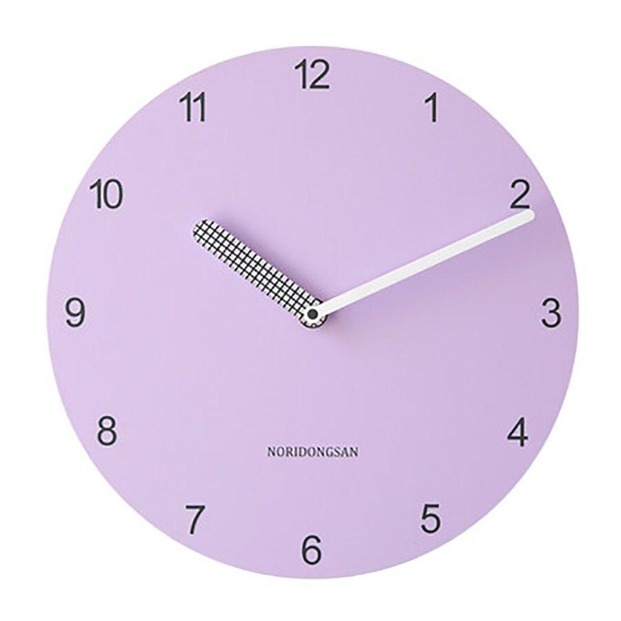 Reloj de pared de arte nórdico reloj de sala de estar silencioso Pow Patrol Guess mujeres reloj mecanismo creativo edroom decoración redonda WZH343