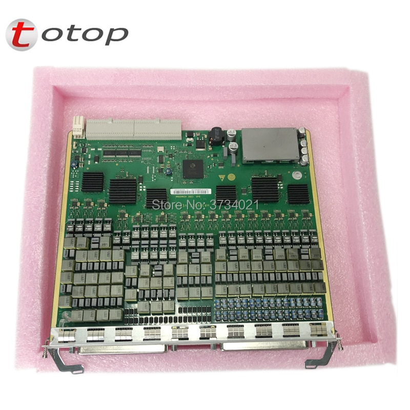 Free shipping Card VDLE for huawei MA5616, 32 channel VDSL2 board, low power consumption, built-in splitter service board