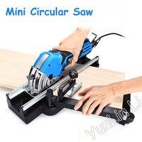 500W Mini Circular Saw Electric Woodworking Cutter Stone/ Metal/ Brick Saw Machine