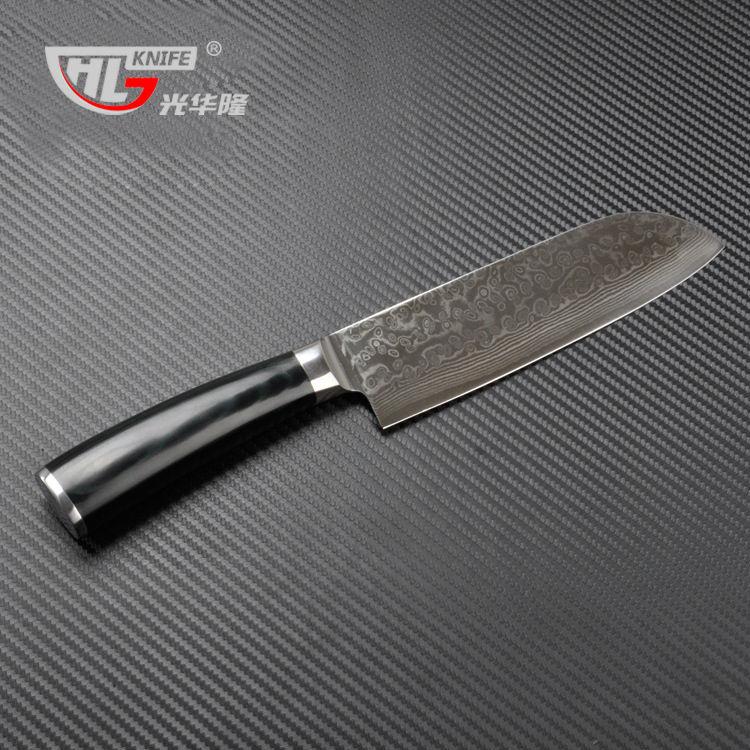 67 Layers Damascus Steel Santoku Knife Professional Chef Santoku