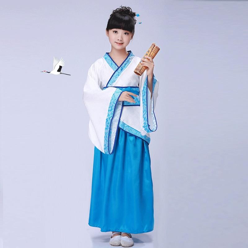 Chinese style Hanfu costume boy girl costume cosplay stage performance costume недорого