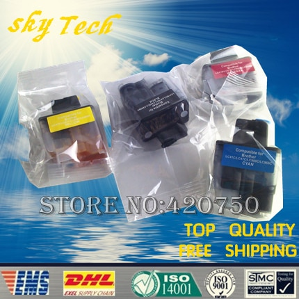 Pełna tusz kartridż napełniający garnitur dla Brother LC41 LC47 LC900 LC950 LC09, garnitur dla DCP-110C 310CN MFC-210C 410CN 620CN 3240C itp