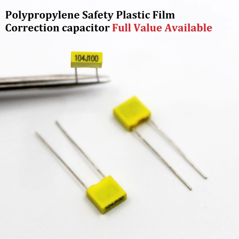 Конденсатор для коррекции пленки из полипропилена, 20 шт., 100 в, 102J/152J/222J/332J/472J/682/103J/123J100V 0. /1/1. 5/2. 2/3. 3/4. 7/6. 8/10/12NF/UF