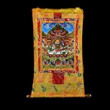 Wholesale Buddhist supplies-85CM Thang-ga Thangka- efficacious Protection Tibetan Buddhism Vaisravana Vessavana Buddha painting