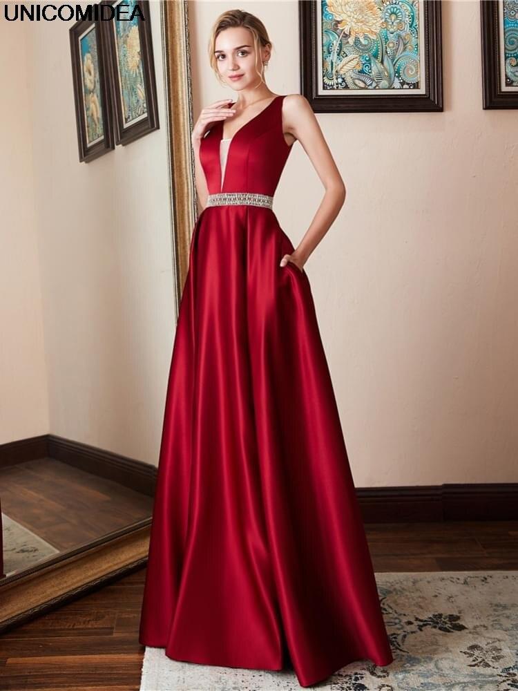 Maxi Dress Sleeveless V Neck Backless Women Dress Elegant Formal Evening Party Dress Femme Long Big Swing Vestidos de festa 2020