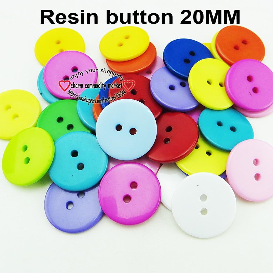 100 Uds 20MM camisa mixta de resina botones abrigo botas accesorios de costura R-264
