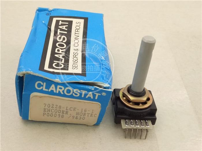 الأصلي كلياروستات التشفير 70228-LCE-16-1 5 دبوس القدم الجهد السائر 16-محور طول 35 مللي متر