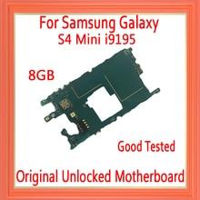 Pour Samsung Galaxy S4 mini i9195 carte mère déverrouillée dorigine, avec puces complètes pour S4 mini i9195 carte mère bonne plaque testée