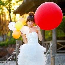 Goedkope 10 stks 27 inch grote Helium Inflable latex ballon baby douche kids decoratie Bruiloft decoratie ballon