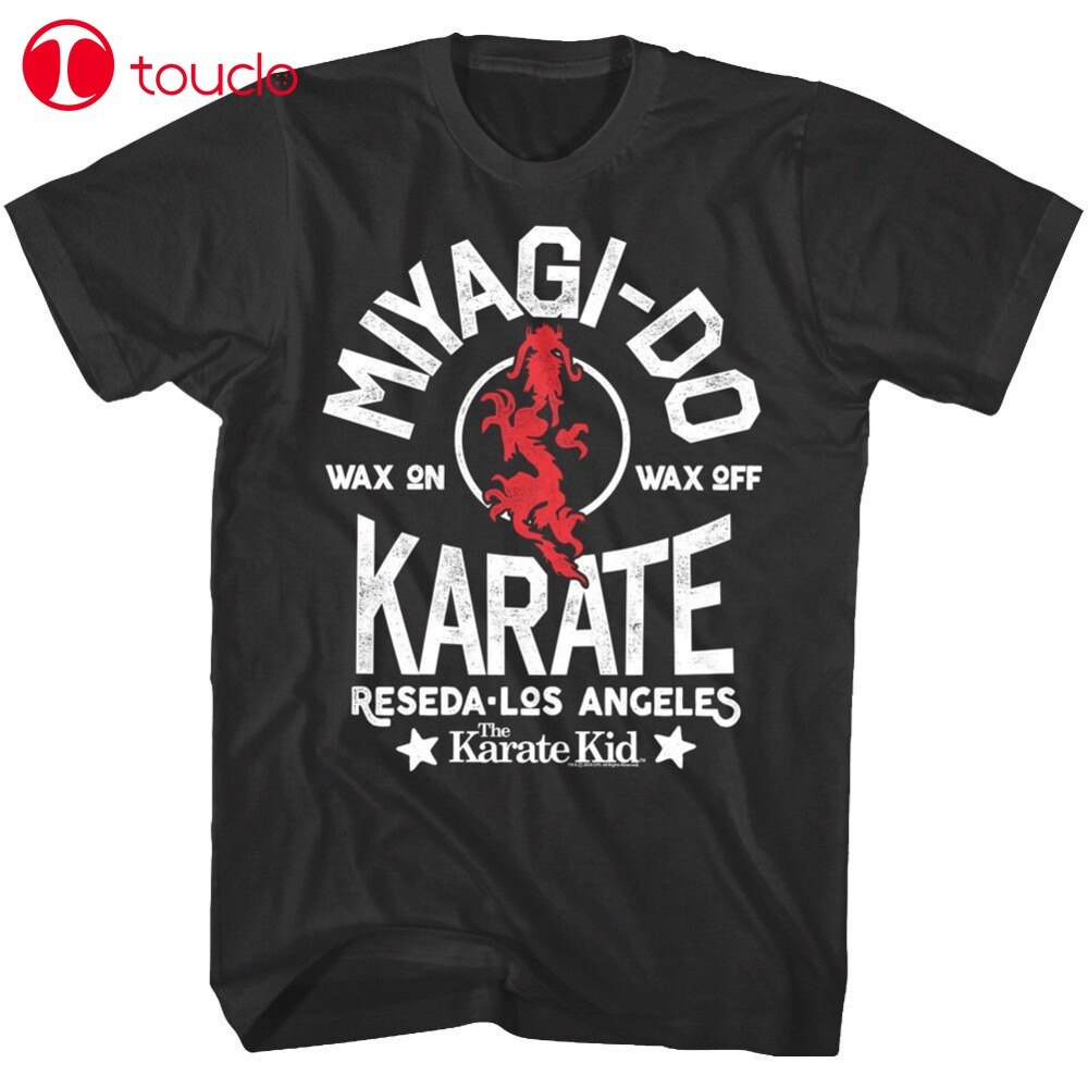 2019 New Arrival Karate Kid Miyagi-Do Dragon Reseda Los Angeles Mens T Shirt Bonsai Cobra Kai Fashion Casual Tee Sweatshirt