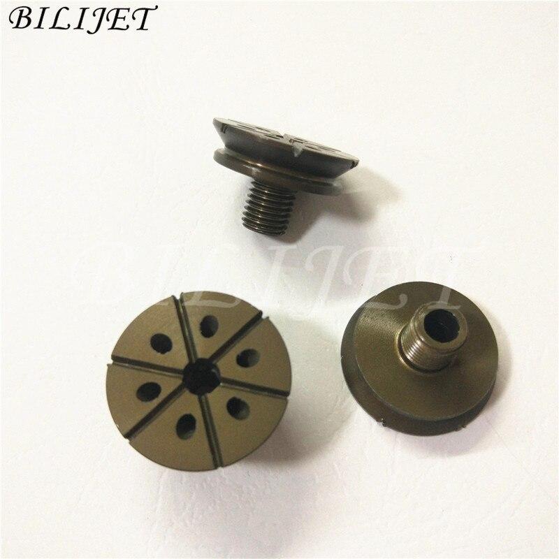 10 piezas KBA impresión Copa ventosa tazas para Roland Komori Mitsubishi piezas de la máquina diámetro exterior 24mm dientes 8mm