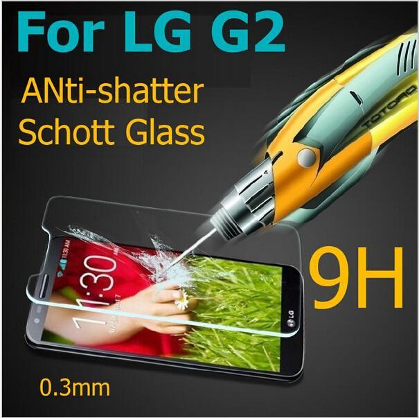 Закаленное стекло для LG G2 D802, защитное покрытие ЖК-экрана, пленка для LG D800 D801 D802 D803 VS980 LS980 FS320, защитное стекло