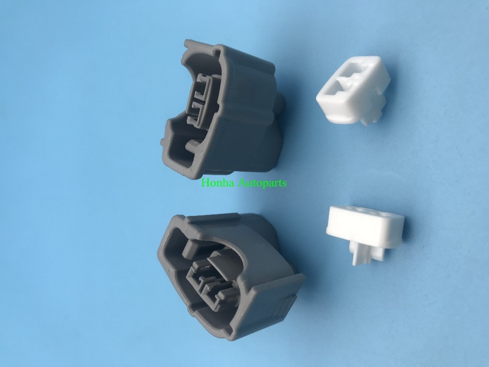 20 Uds 2 Pin inyector enchufe hembra cable conector 6189-0611 90980-11875