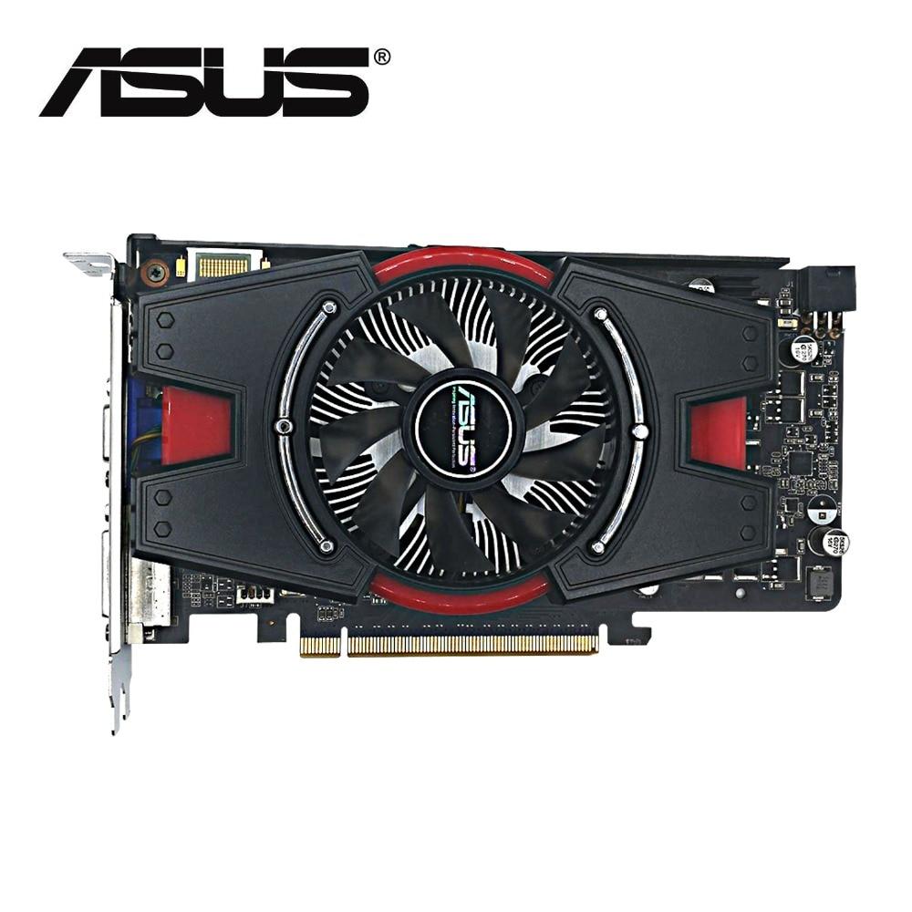 ASUS-tarjeta de vídeo original GTX 550Ti real 1G GDDR5 192bit HD, 100%...
