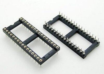 15 Uds 32 Pin redondo DIP adaptador de zócalo de IC 32Pin paso 2,54mm conector