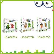 Perles de dinosaure DOLLRYGA dans un Puzzle pour enfants Aqua ensemble jouets Enfant artisanat perles knutselen maternelle Jouet Enfant mousse perle fille cadeau