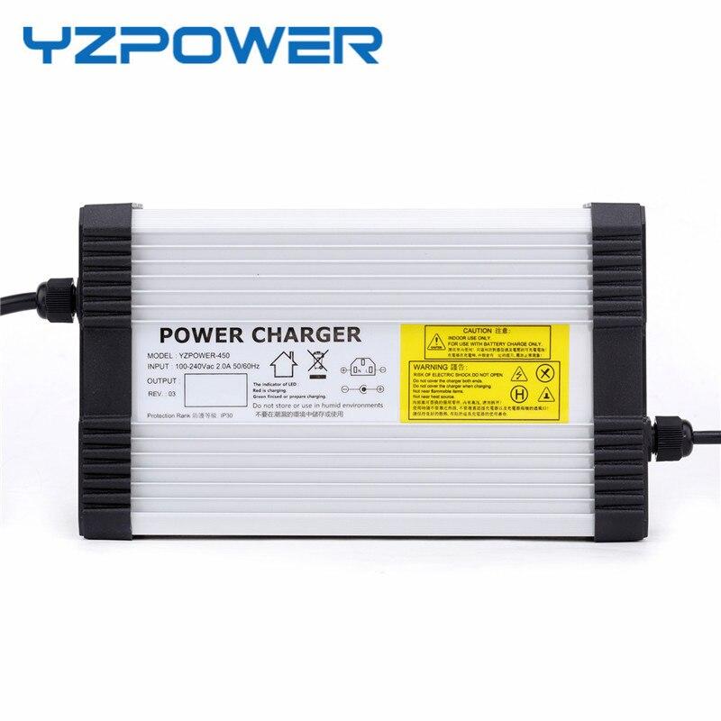 YZPOWER 72,5 V 5A интеллектуальное свинцово-Кислотное автомобильное зарядное устройство для аккумулятора, быстрое зарядное устройство для 60V свин...