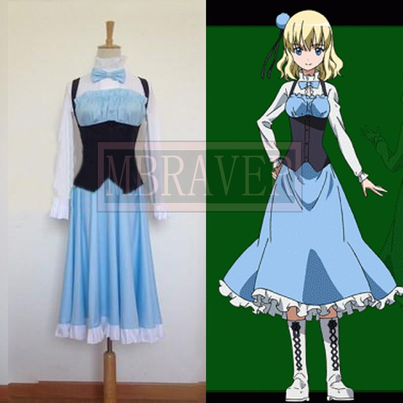 Akame Ga Kill Cosplay Aria disfraz de cualquier tamaño