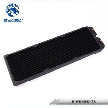 Bykski B-RD420-TN 42cm 420mm 3 x 14cm Copper Radiator Liquid Water Cooling