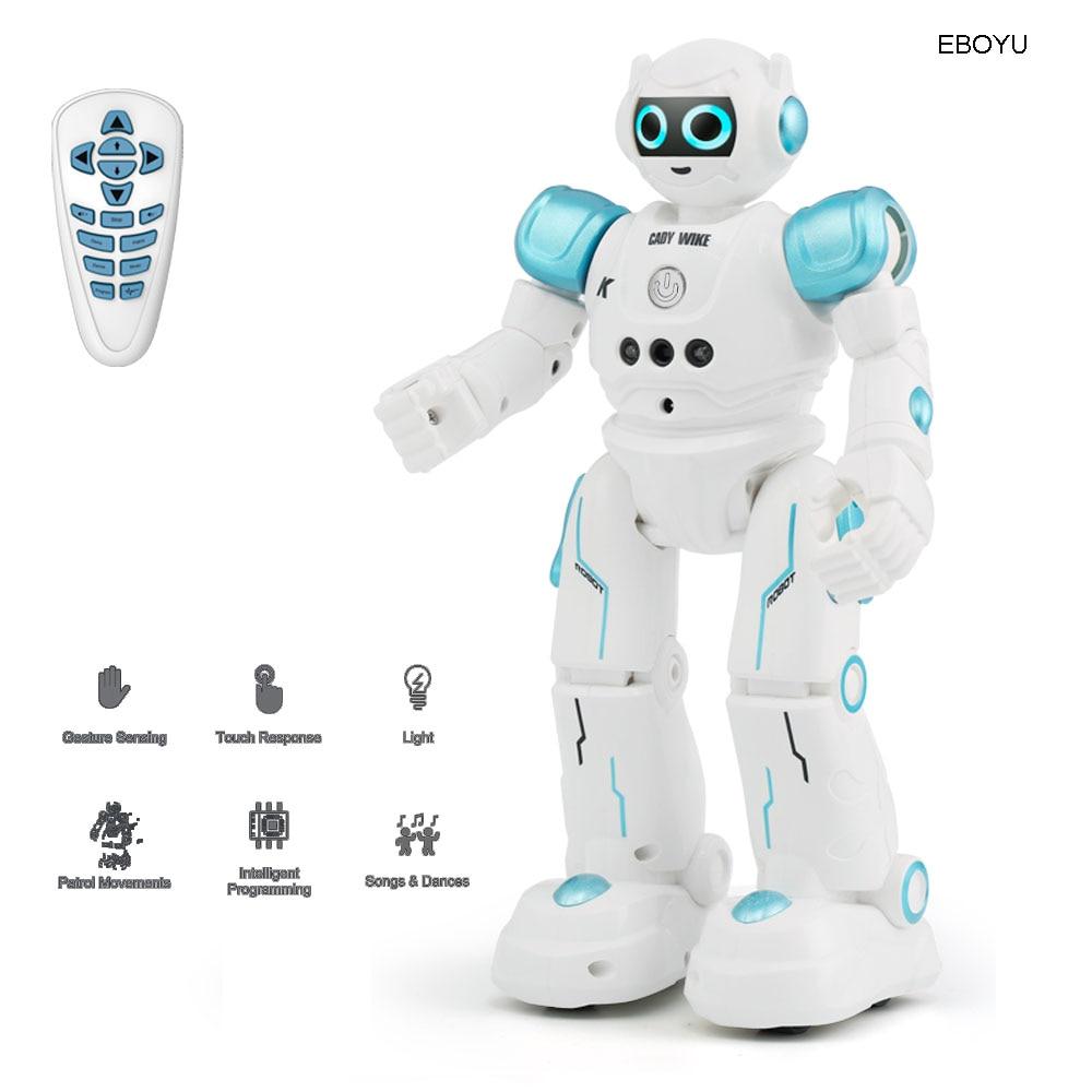 JJR/C JJRC R11 Cady Wike Robot RC inteligente Control remoto programable Sensor de gestos música baile juguete para niños