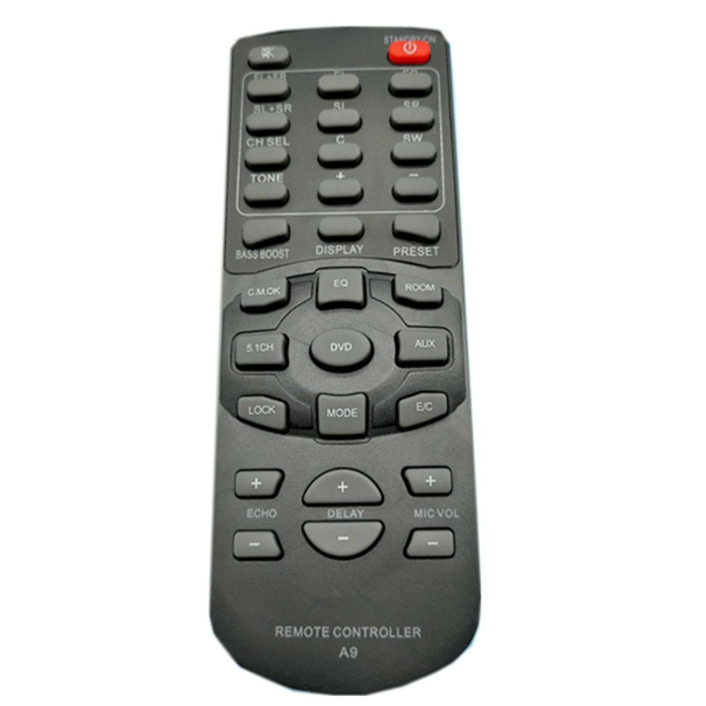 New remote control suitable for AVLIGHT A9 Amplifier Audio Digital Home Theater controller