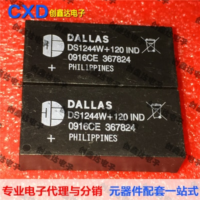 Freeshipping       DS1244        DS1244W+120IND