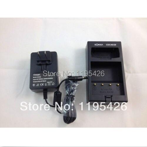 Nuevo cargador SOKKIA estación Total CDC40/29, para SOKKIA BDC35/BDC35A/baterías