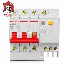 32A 3P RCBO RCD автоматический выключатель DE47LE DELIXI