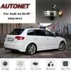 AUTONET – caméra de recul à Vision nocturne HD avec support pour Audi A3 S3 8P 2003 – 2012 3D 5D avec plaque d'immatriculation