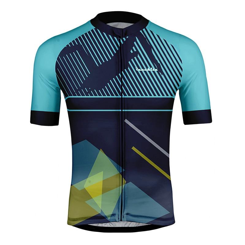 CyclingJerseys Men's Short Sleeve Cycling Jersey Maillot Ciclismo Outdoor Mtb Bike Clothes Tops Ropa De Ciclismo Hombre