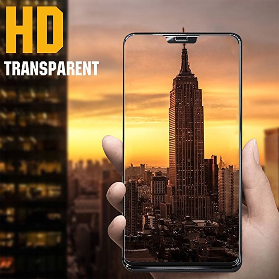5 uds para One Plus 6 vidrio templado para OnePlus 6 T Protector de pantalla de vidrio Oneplus6 One Plus6 vidrio 2.5D película de cubierta completa