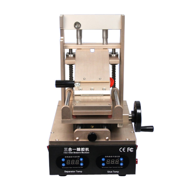 110V/220V 3 in 1 Vacuum LCD Screen Separator/ Preheater/ OCA Glue Polarizer Remove Cell Phone Screen Refurbish Machine enlarge
